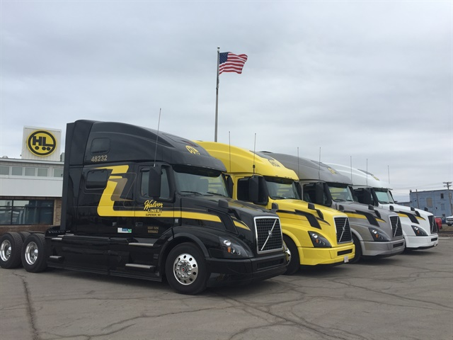 Wisconsin-based Halvor Lines recently branched out into a broader