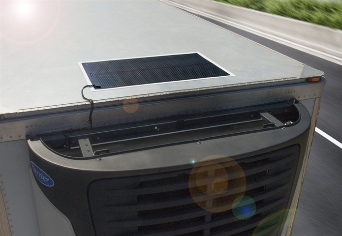 Carrier s new Thin-Film Flexible Solar Panels are easily installed on