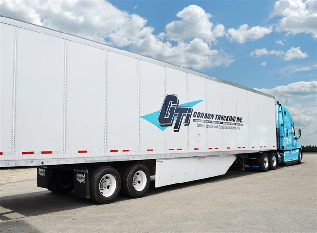 Gordon Trucking Inc. so far has installed Freight Wings on 4,600 of