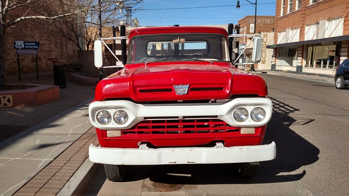1960 or so F-500 is clean and at least cosmetically restored. Nose