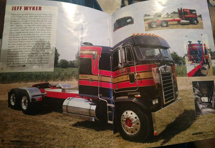 One small fleet just bought this 1988 Kenworth cabover, once featured