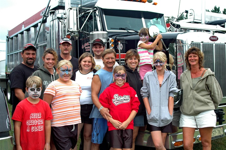 Whether it s time at a truck show or the family campsite, drivers