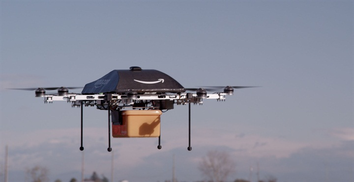 In the future, delivery drones may be added to the last-mile logistics