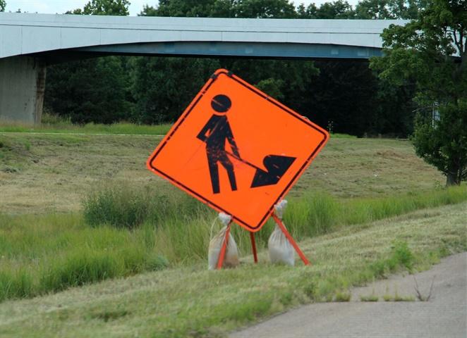 Road work ahead! Photo: Deborah Lockridge
