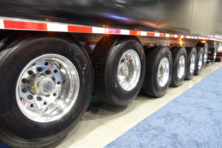 Flatbeds, among the vocational trailers newly regulated for fuel