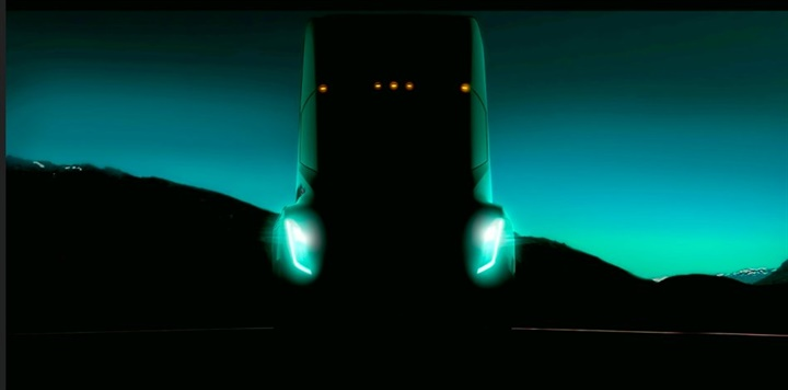 Tesla founder Elon Musk tweeted this image of his upcoming