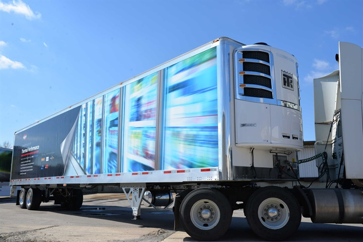 Wabash National s MSC reefer trailer will go into initial production