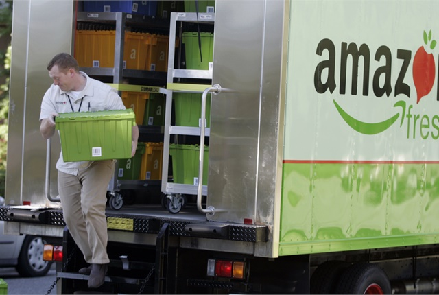 A move into the P&D business by Amazon would hurt other delivery fleets. But the real impact on trucking would be much more profound. Photo: Amazon