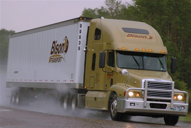 Bison Transport, based in Winnipeg, Manitoba, took top honors in the over 25 million annual miles category.