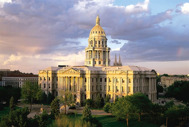 Colorado State Capitol Building, Denver. Photo: Colorado Tourism Office