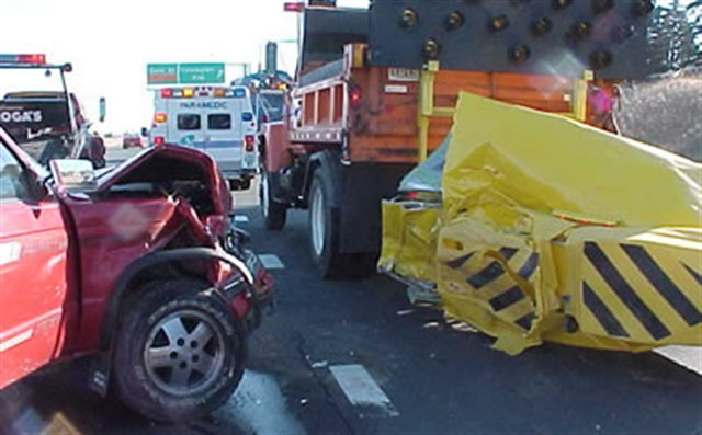 """""""You can't tackle our rising epidemic of roadway deaths without tackling speeding,"""" said NTSB Acting Chairman Robert L. Sumwalt, """"and you can't tackle speeding without the most current research. Speed kills."""" Photo: Minnesoto DOT/Julie Bottolfson"""