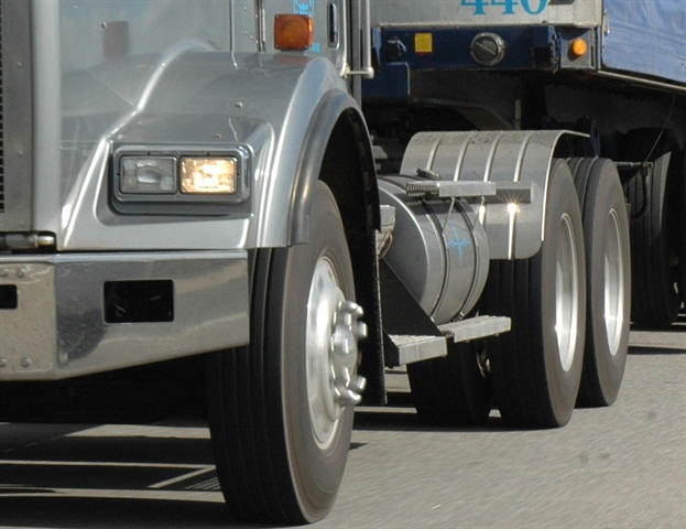 Steer tires typically runs at about 93% of their load capacity, drive tires are around 68%. Photo by Jim Park