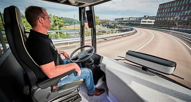 The Mercedes-Benz Future Bus is Daimler's latest entry into the autonomous commercial vehicle realm.