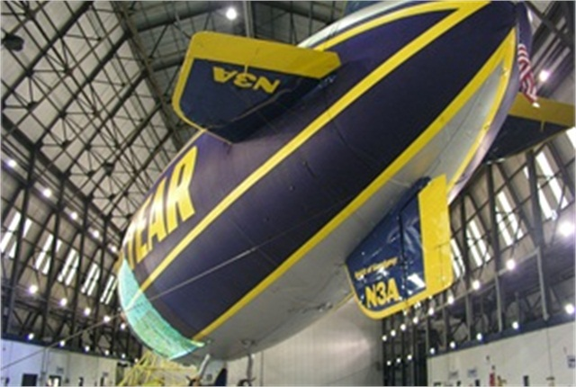 The Spirit of Goodyear blimp will give up its spot in the Wingfoot Lake Hangar near Akron, Ohio, for the new Goodyear New Technology blimp.