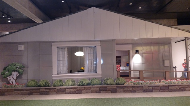 Model home is part of a display at the Ohio History Center in Columbus. Some 2,600 prefab Lustrons were built in the city and shipped to customers in the eastern half of the U.S.