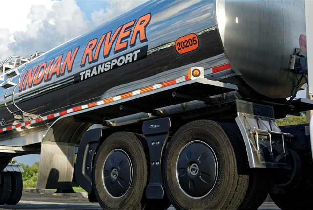 Indian River Transport successfully tested the AeroKit for tankers and decided to retrofit many of its tractors, FlowBelow said previously. The product for tractors pulling tankers and flatbeds is now generally available. Photo: FlowBelow