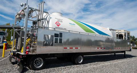 Hydrogen Fueling Stations >> Trailer-mounted fueling station lets customers ease into ...