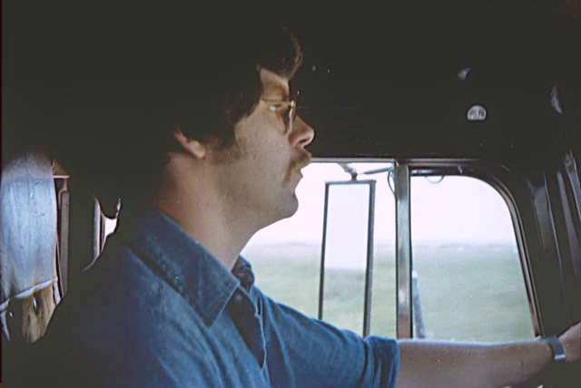 Your scribe, Jim Park, at about 5 years into a 20-year driving career -- circa 1983-ish.