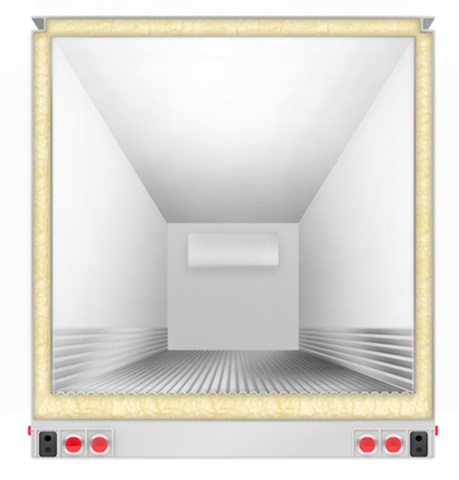 EPA wants new, environmentally friendly insulation for the insides of walls, ceilings and floors of reefer trailers by 2020 – a very difficult task, Utility says. (Drawing is an artist's rendering of a trailer cross-section, not an actual model.) Courtesy Utility Trailer Mfg.