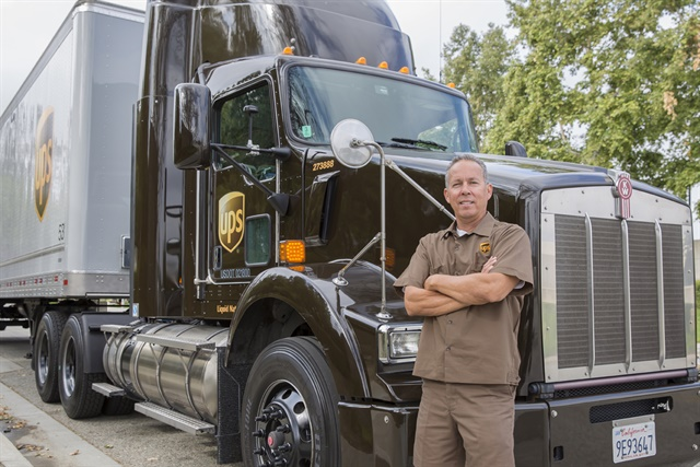 Is an uptick in freight likely as more companies begin direct-to-consumer shipping? A recent move by the Gillette company suggests that will happen. Photo: UPS