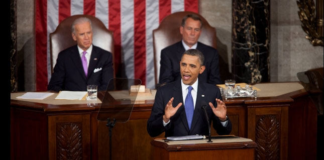 President Obama delivers his jobs speech to Congress.