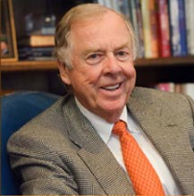 T. Boone Pickens, natural gas crusader