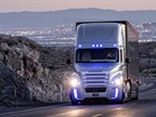 Autonomous truck technology like that in Freightliner s Inspiration