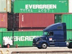 Independent contractors operating at ports, like the Port of Long Beach, are challenging their status. Photo: Jim Park
