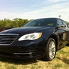 The Chrysler 200 at the 2011 Fleet Preview in Austin, Texas.