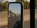 Even glancing through a mirror can be distracting, but drivers have