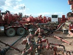 Fracturing operation in the Bakken Formation. Photo: Joshua Doubek