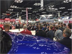 The announcement of the new Hino XL, Hino's first entry into the North American Class 8 market, was the Work Truck Show's largest press conference to date. (Photo by Chris Brown)