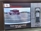 SuperDuty s multiple cameras give a 360-degree view around the truck