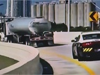 Gasoline tankers are getting police escorts, like this one in Miami.