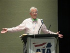 Rep. Earl Blumenauer (D-OR) speaking to ATA committee in Orlando. Photo: David Cullen
