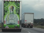 Don't the graphics on that clean trailer make you want to sip a bit of Mexican tequila?