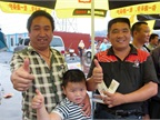 Mr. Wang and Mr. Yu, owner-operators, give the Shell roadshow a