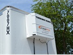 Thermo King heaters blow warm air into trailers, whose noses and walls
