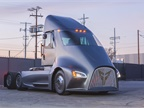 <p><strong>A new NACFE report on electric vehicles says Class 7 and 8 operations will be possible, but not for all applications. </strong><em>Photo: Thor Trucks</em></p>
