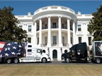 Parked on the White House lawn were ATA's Image Truck,