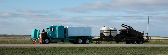 Canada's two-percent biodiesel mandate will be good for farmers, but could cause problems and expense for trucking, CTA says. (Photo by Jim Park)