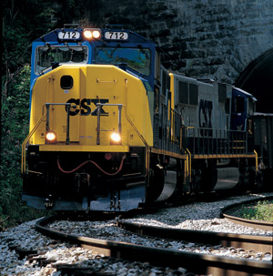 Intermodal's market share should continue to grow. (Photo courtesy of CSX)