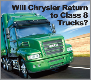 If Chrysler decides to re-enter the Class 8 market here, Iveco's Australian Powerstar conventional might be the basis for a North American Ram tractor.