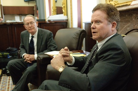 Senators Lamar Alexander (R-TN) and Jim Webb (D-VA) Monday introduced The Clean Energy Act of 2009, which abandons the cap-and-trade concept.