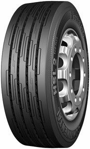 Continental's HSL2 Eco Plus (Heavy Steer Long-Haul) tire was recently verified as a low rolling resistance tire.