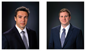 Libor Heger (left) will be replacing Roger Sansbie as Director of Truck Tire Technologies for the Americas. Alex Chmiel (right) will be taking on the role of CVT Brand and Communications Manager.