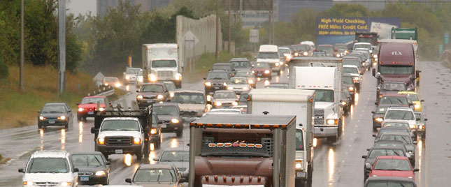 If the recession had you thinking congestion was getting better, think again. (Photo courtesy Michelin.)