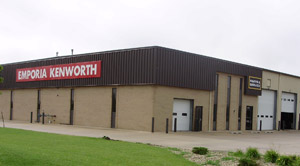 The new Emporia Kenworth is located on 3 acres.