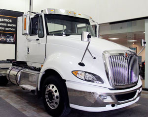The first ProStar equipped with the Cummins ISX15 with selective catalytic reduction rolled off the production line last month.