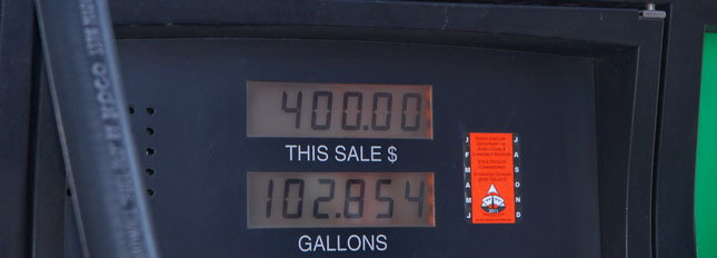More truckers are seeing this as diesel is again at $4 a gallon. (Photo by Jim Park)